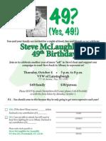 Mclaughlin 49 Invite