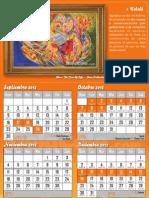 Luaj Calendario Judío Festividades 5773