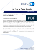 The Changing Face of World Security