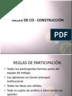 TALLER DE CO CONSTRUCCIÓN CON EL EMPRESARIO