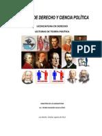 Lecturas Teoria Politica 2012