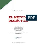 8913802 Eduardo Ranch Sales El Metodo Dialectico