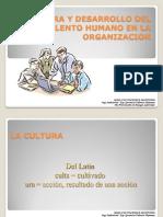 Cultura y Desarrollo Del Talento Humano en Las Organizaciones