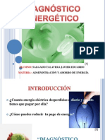 DIAGNOSTICO ENERGETICO