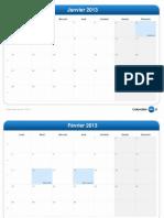 calendrier mensuel-2013