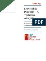 SAP Mobile Platform - A Technical Analysis