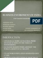 Buisness Enviroment of India