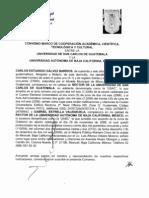 CONVENIO MARCO DE COOPERACION ACADEMICA, CIENTIFICA, TECNOLOGICA Y CULTURAL ENTRE LA USAC Y LA UNIVERSIDAD AUTONOMA DE BAJA CALIFORNIA, MEXICO