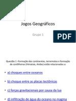 Jogos Geográficos - grupo 1