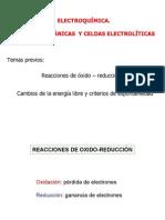 Electroquímica | Celdas galvánicas y celdas electrolíticas
