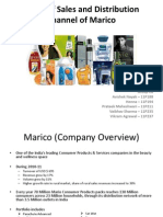 Study of Sales and Distribution Channel of Marico