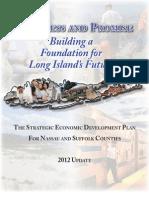 Long Island Regional Economic Development Council 2012 Progress Report