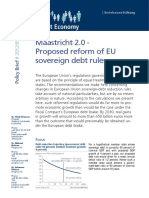Maastricht 2.0 Proposed Reform of Eu Sovereign Debt Rules