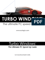 Turbo Windows - The Ultimate PC Speed Up Gde. - L. Cornwell, A. Coolfix (Auslogic, 2011)