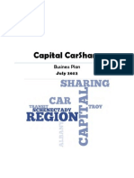 Capital CarShare Business Plan
