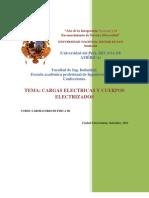Laboratorio de Cargas Electricas y Cuerpos Electrizados