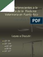 5. Leyes Pertenecientes a la Práctica de la  Medicina VeT