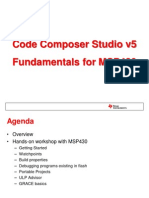 Code Composer Studio v5 Fundamentals for MSP430