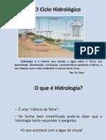 Aula2010-2CicloHidrológico