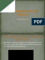Postmodern Music Videos - Lady Gaga