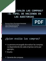 EXPOSICIÓN DE COMPRAS Y AUDITORIA