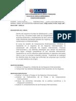 MODELO de PLANIFICACION Gestion de Corporaciones Multinacionales