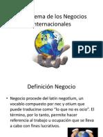 Negocios Internacionales Clase 1
