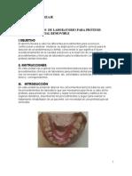 Procedimientos de Laboratorio Para Protesis Dental Parcial Removible