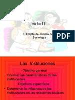 Temas de la Unidad I. Prof. Teresa Zeledón