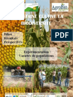 L'Aquitaine cultive la biodiversité - rapport 2010