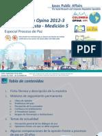 Encuesta Ipsos Sep2012