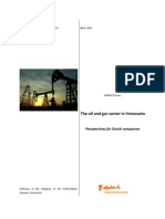 The Oil & Gas Sector in Venezuela Perspectives for Dutch Companies