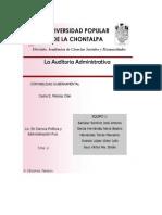 La Auditoria Administrativa