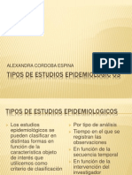 Tipos de Estudios Epidemiologicos Clase 5