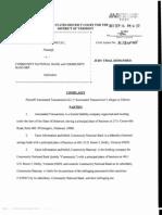 Automated Transactions v. Community National Bank and Community Bancorp.