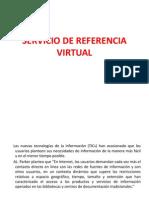 Presentación del servicio de referencia virtual