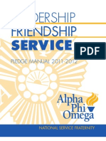 Apo Pledge Manual