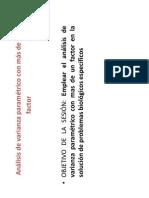 Anova Parametrico Con Mas de 1 Factor(1.0).Pptx