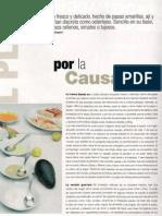 Causa, Receta - La CAV, Junio 2008