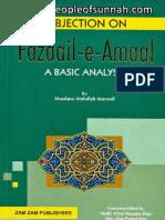 Objection on Fazaail-e-Amaal - A Basic Analysis - Maulana Abdullah Maroofi Deobandi
