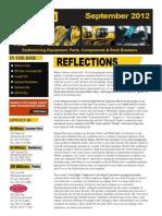 RD Williams - September 2012 Newsletter