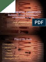 Aula Instrumental Cirurgico Básico