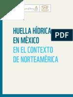 Huella hídrica en México