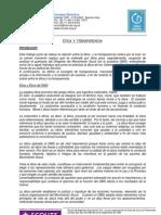 Documento Ética y Transparencia del Consejo Directivo