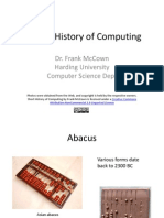 Short History of Computing