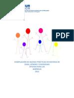 Compilación de Buenas Prácticas en Materia de Edad, Género y Diversidad. ACNUR, Oficina para las Américas (2012)