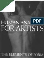 Human Anatomy For Artists Pdf