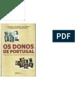 OS DONOS DE PORTUGAL, Cem anos de poder económico (1910-2010)