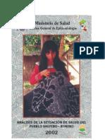 ANÁLISIS DE LA SITUACION DE SALUD DEL PUEBLO SHIPIBO - KONIBO