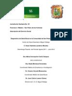 diagnóstico de comunidad san p